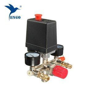 125psi prekidač tlaka kompresora s 1 mjeračem regulatora
