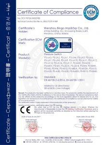 CE za prekidač tlaka