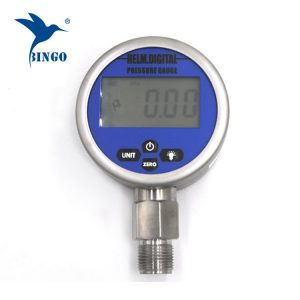 Inteligentni vakuumski digitalni mjerač tlaka, LCD, LED zaslon, 100 MPa mjerač